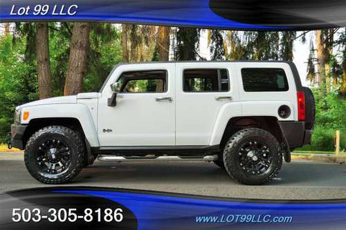 2006 *HUMMER* *H3* *4X4 ONLY 105K MOON LEATHER LIFTED FUEL WHEELS NEW for sale in Milwaukie, OR