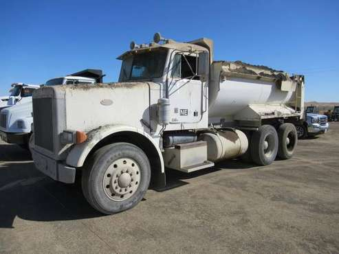 1987 Peterbilt T/A Dump Truck for sale in Coalinga, AZ