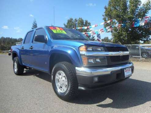 2006 CHEVY COLORADO CREWCAB 4 DOOR 4X4 Z71!! for sale in Anderson, CA