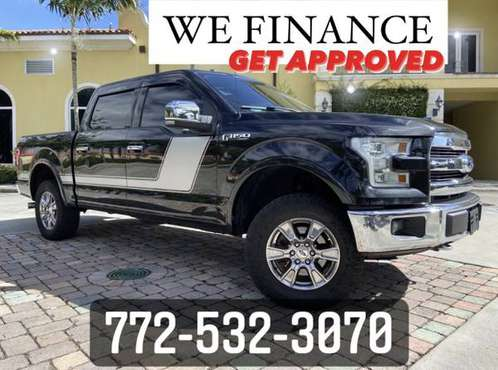 2015 Ford F-150 Lariat **CLEAN TRUCK** - cars & trucks - by dealer -... for sale in Vero Beach, FL