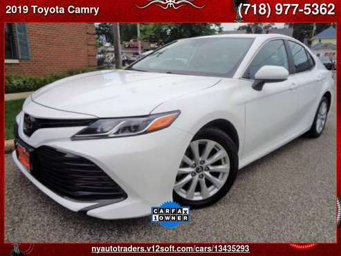 2019 Toyota Camry SE Auto (Natl) - cars & trucks - by dealer -... for sale in Valley Stream, NY