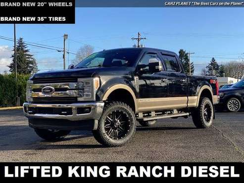 2018 Ford F-350 4x4 Super Duty King Ranch LIFTED DIESEL TRUCK 4WD... for sale in Gladstone, OR