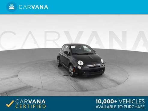 2016 FIAT 500e Hatchback 2D hatchback Black - FINANCE ONLINE for sale in Atlanta, GA