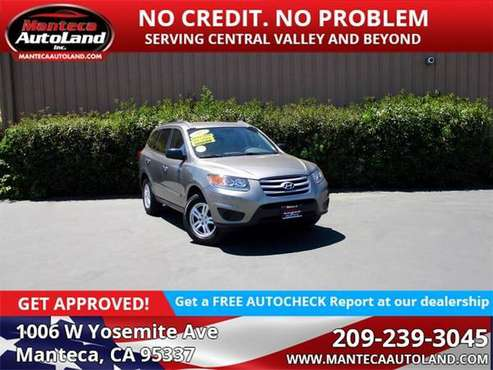 2012 Hyundai Santa Fe GLS for sale in Manteca, CA