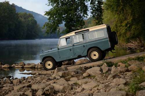 1966 Land Rover Series IIA 109 Station Wagon for sale in Marshall, MA