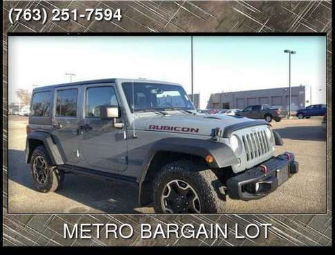 2014 Jeep Wrangler Unlimited Rubicon - cars & trucks - by dealer -... for sale in brooklyn center, MN