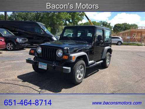 2003 Jeep Wrangler X for sale in Forest Lake, MN