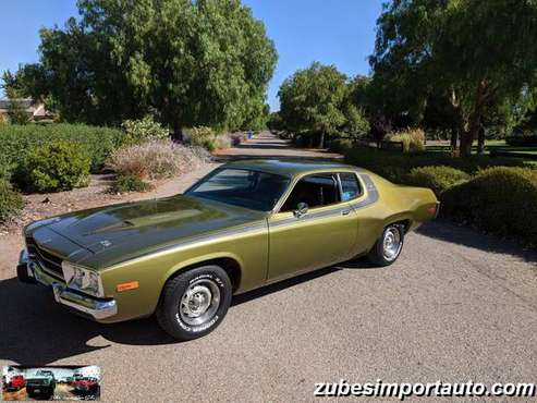 ▲1974 PLYMOUTH ROAD RUNNER *ONE OWNER* 57K ORIG.MILES/ 360 CI V8 AUTO for sale in San Luis Obispo, CA