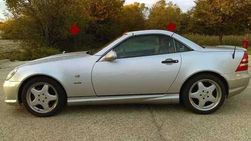 1999 Mercedes-Benz SLK-Class Sport AMG Trim Package and AMG Body Kit for sale in Buffalo Grove, IL