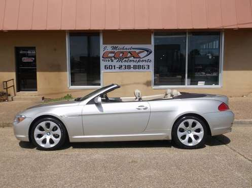 2006 BMW 650i Convertible (2D,V8,Auto,Air,Loaded! 86K Miles) for sale in Jackson, MS