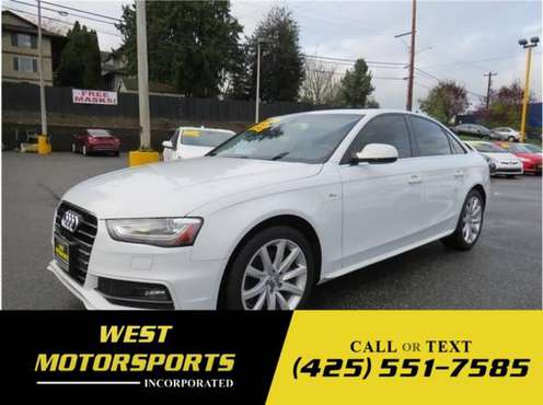 2014 Audi A4 Premium Sedan 4D - cars & trucks - by dealer - vehicle... for sale in Everett, WA