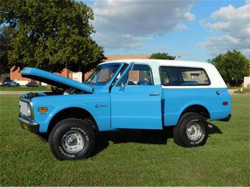 1971 Chevrolet Blazer for sale in Cadillac, MI