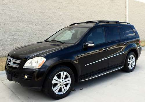 Black 2008 Mercedes Benz GL320 CDI - Black Leather - Nav - Backup Cam for sale in Raleigh, NC
