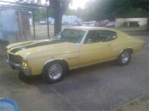 1972 Chevrolet Chevelle for sale in Cadillac, MI