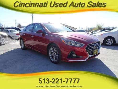 2018 Hyundai Sonata SEL - cars & trucks - by dealer - vehicle... for sale in Cincinnati, OH