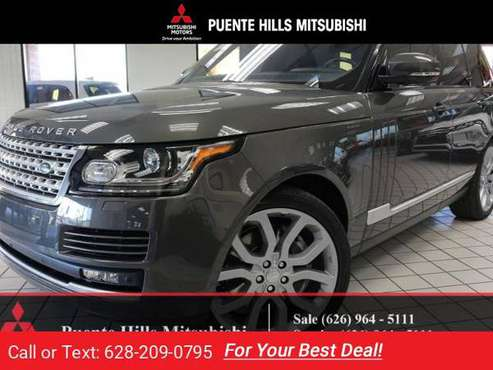 2016 Range Rover Supercharged *Navi*LowMiles*Warranty* for sale in City of Industry, CA
