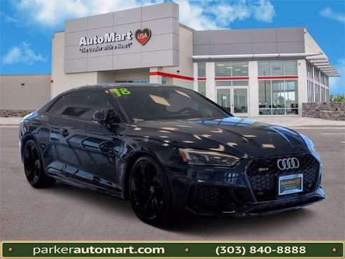 2018 AUDI RS5 - cars & trucks - by dealer - vehicle automotive sale for sale in Parker, CO