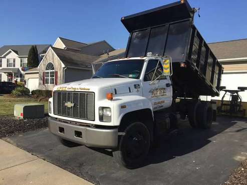 1999 Chevy 7500 Dump Truck for sale in Bethlehem, PA