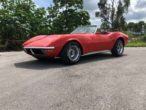 1970 CORVETTE CONVERTIBLE - WILLING TO TRADE for sale in Fort Myers, FL