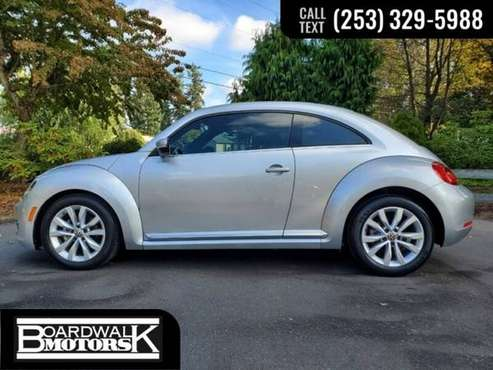 2013 Volkswagen Beetle Coupe Coupe Volkswagon TDI Beetle Coupe VW for sale in Auburn, WA