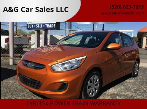 2017 HYUNDAI ACCENT SE 4DR HATCHBACK 6A - cars & trucks - by dealer... for sale in Tucson, AZ