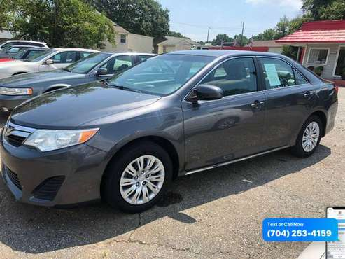 2013 TOYOTA CAMRY LE We Finance Everyone/Buy Here Pay Here - cars &... for sale in Belmont, NC