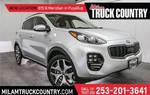*2018* *Kia* *Sportage* *SX Turbo AWD* for sale in PUYALLUP, WA