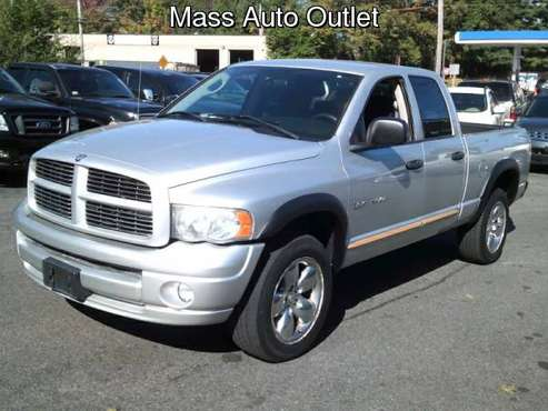 2005 Dodge Ram 1500 4dr Quad Cab 140.5 WB 4WD SLT for sale in Worcester, MA