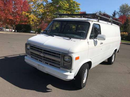 1989 Chevrolet Vandura G20 ONE OWNER very Low Miles for sale in Dundee, OR