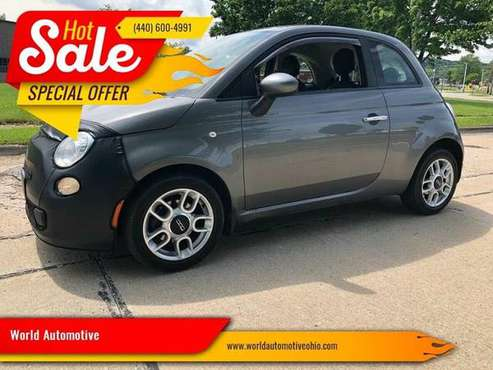 2012 FIAT 500***$699 DOWN PAYMENT***FRESH START FINANCING**** for sale in EUCLID, OH