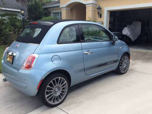 2014 Fiat 500c Cabriolet for sale in Parrish, FL