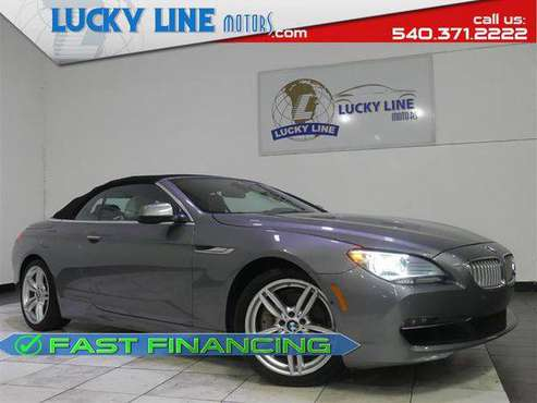 2012 BMW 6 SERIES 650I for sale in Fredericksburg, VA