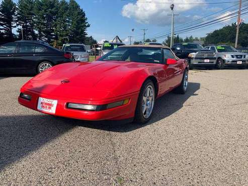 1994 CHEVY CORVETTE CONVERIBLE ONLY 73K!! MINT! for sale in North Hampton, MA