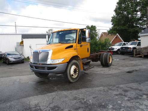 2012 international 4300 dura star cab & chassis diesel 80k for sale in Indianapolis, IN