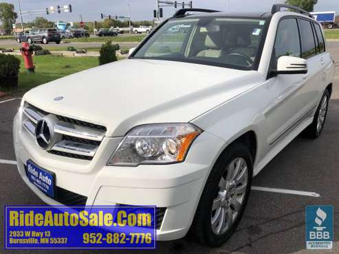2012 Mercedes Benz GLK 350 AWD 3.5 V6 leather P-roof FINANCING OPTIONS for sale in Minneapolis, MN