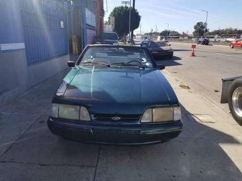1990 Ford Mustang Convertible 5.0 Stick Shift for sale in Los Angeles, CA