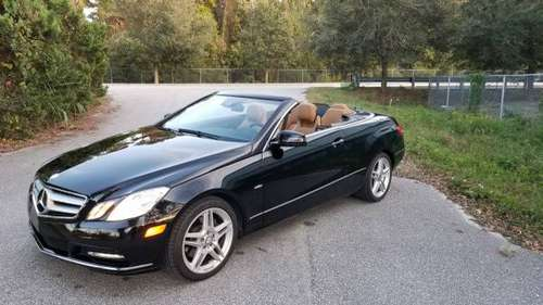 2012 Mercedes E350 cabriolet for sale in Summerville , SC