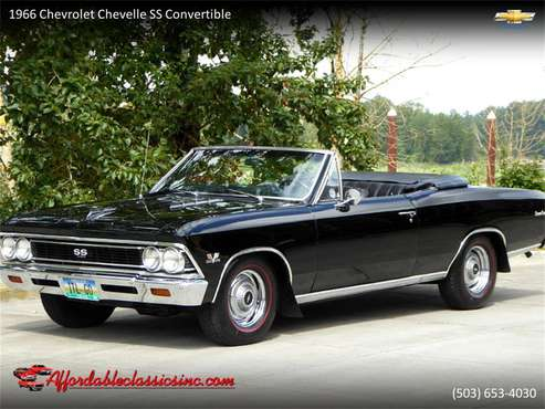 1966 Chevrolet Chevelle SS for sale in Gladstone, OR