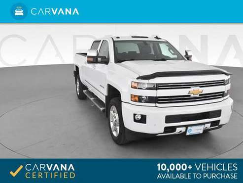 2017 Chevy Chevrolet Silverado 2500 HD Crew Cab LT Pickup 4D 6 1/2 ft for sale in Akron, OH
