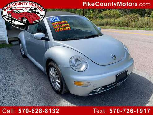 2004 Volkswagen New Beetle Convertible 2dr Convertible GLS Manual for sale in Dingmans Ferry, NJ