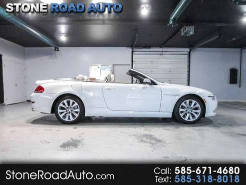 2010 BMW 6 Series 2dr Conv 650i for sale in Ontario, NY