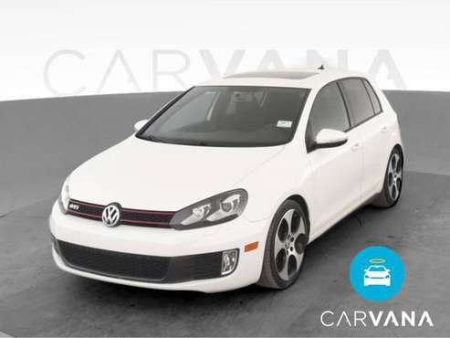2012 VW Volkswagen GTI 2.0T Hatchback Sedan 4D sedan White - FINANCE... for sale in Chicago, IL