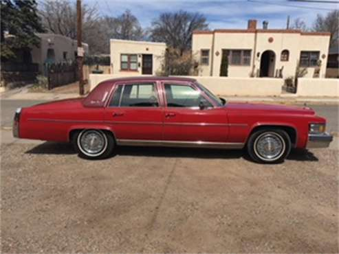 1978 Cadillac Fleetwood Brougham d'Elegance for sale in Santa Fe, NM