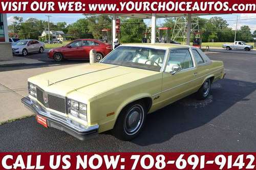 1977 *OLDSMOBILE**OLDSMOBILE* 98 LEATHER ALLOY GOOD TIRES 191531 for sale in CRESTWOOD, IL