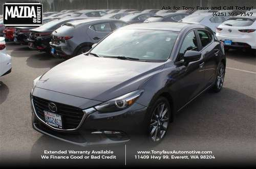 2018 Mazda 3 5-Door Grand Touring Auto Call Tony Faux For Special... for sale in Everett, WA