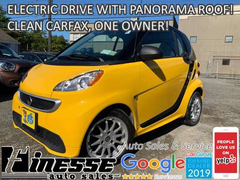 2014 SMART ELECTRIC DRIVE, CLEAN CARFAX AND ONE OWNER! for sale in Seattle, WA