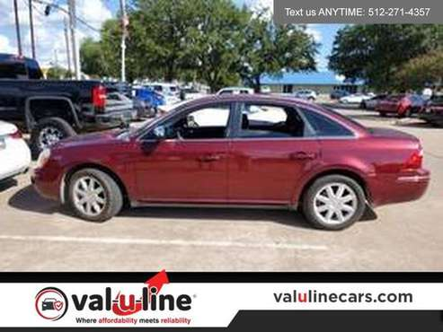 2007 Ford Five Hundred Red Fire Metallic **FOR SALE**-MUST SEE! for sale in Austin, TX