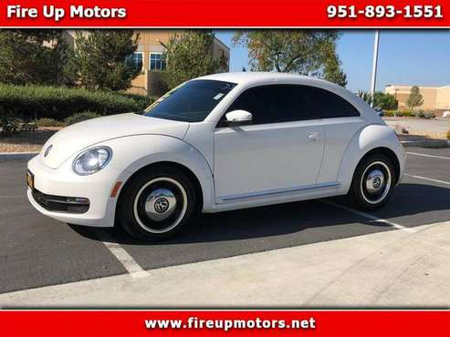 2012 Volkswagen Beetle 2dr Cpe Auto 2.5L for sale in Corona, CA