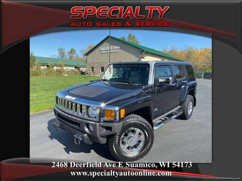 2009 Hummer H3! Luxury! Htd Lthr! New Tires! Moonroof! Clean Title! for sale in Suamico, WI
