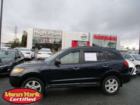 2009 Hyundai Santa Fe Limited - cars & trucks - by dealer - vehicle... for sale in High Point, NC
